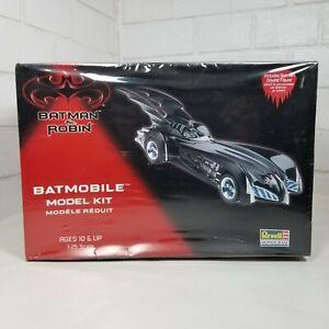1997 Revell Batman & Robin Batmobile Brand New Factory Sealed Kit #85-6724