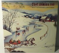 Chet Atkins : A Tennessee Christmas. FC39003 1983 PROMO LP. Country
