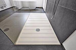 3 cm breite rutschfeste Anti Rutsch Streifen  + fein transparent.+ Dusche Wanne