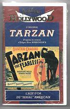 VHS K7 / L'ORIGINAL TARZAN L'INTREPIDE - BUSTER CRABBE , EDGAR RICE BURROUGH'S