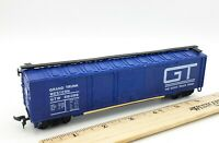 HO Scale Model Train GRAND TRUNK WESTERN GTW 591399 Blue Box Car