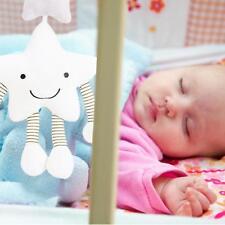 Baby Newborn Rattles Plush Star Stroller Pram Bed Music Hanging Bell Toy Doll