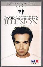 VHS - DAVID COPPERFIELD  ILLUSION