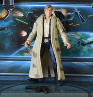 STAR WARS FIGURE 1995 POTF COLLECTION HAN SOLO ENDOR OUTFIT