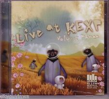 LIVE AT KEXP Vol 3 Seattle 90.3 FM 2007 Various CD Cloud Cult Shins Shackeltons