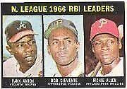 1967 Topps Hank Aaron #242 Baseball Card