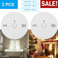2-Pack Combination Smoke and Carbon Monoxide Detector Alarm Battery Operated NEW