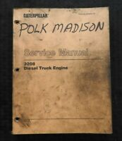 GENUINE CATERPILLAR 3208 DIESEL TRUCK ENGINE SERVICE REPAIR MANUAL SER. # 2Z1 up