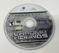 Chrome Hounds (Microsoft Xbox 360, 2006) Disc Only Tested Working