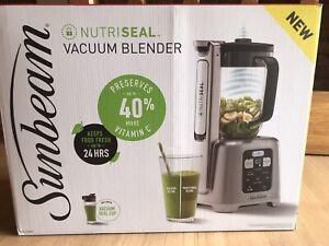 Sunbeam Nutriseal Vacuum Blender BNIB