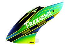 XCanopy Airbrush Fiberglass Green Racing Canopy - TREX 450 PRO V2