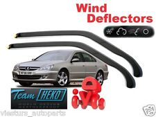 PEUGEOT 607 2000 - 2009  SALOON  Wind deflectors 2.pc HEKO 26129 for FRONT DOORS