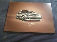 2007 Mercedes Benz CL Class Coupe Original Color Brochure Prospekt Market