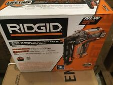 RIDGID HYPERDRIVE 18-Volt Brushless 16-Gauge 2-1/2 in. Straight Nailer Home Tool