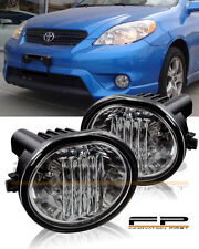 For 2003-2008 Toyota Matrix Fog Lights Full Complete Kit Switch And Harness Pair