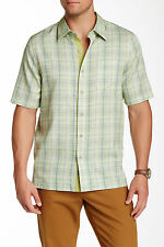 Nat Nast Rothko Shirt, Silk Blend, Regular Fit ,Short Sleeve, Small, $155, NWT