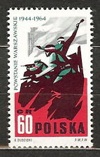 Poland 1964 Fi 1365 20th anniversary of the Warsaw Uprising of 1944 MNH