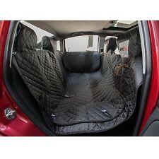 HOBBYDOG ZBOSZA2 Autoschutzdecke mit Seitenschutz Hundedecke 140x160cm SCHWARZ