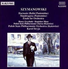 Karol Szymanowski: Harnasie; Mandragora; Etude (CD, May-2000, Marco Polo)