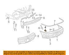 Pontiac GM OEM Grand Am Rear Bumper-Bumper Cover Upper Bracket Right 22737115
