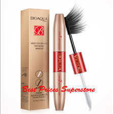 BIOAQUA Lengthening Volumizing Fiber Mascara Dual-head Waterproof Eyelashes