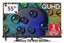 "TCL 2019 NEW 55"" Premium 4k QUHD TV HDR ANDROID OREO Onkyo Audio AI Model: 55C8"