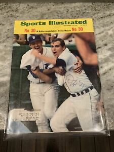 Sports Illustrated SEPT 23 1968 Denny Mclain Signed 30 Wins Issue