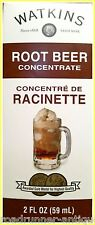 Watkins Root Beer Concentrate Extract 2 oz USA Kosher Fresh