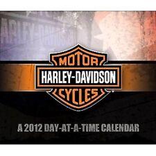HARLEY-DAVIDSON MOTOR CYCLES / Day-at-a-Time 2012 Calendar