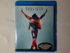MICHAEL JACKSON This is it blu-ray ITALY