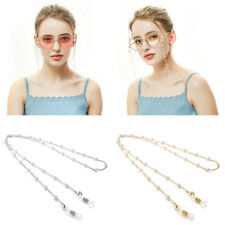 Pearl Beaded Glasses Retainer Sunglasses Holder Strap Women Men Eyewear Cords
