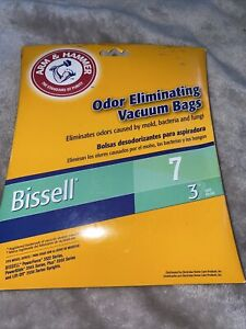 Arm & Hammer Bissell 7 Odor Eliminating  Vacuum Bags # 62615A 2 Bags