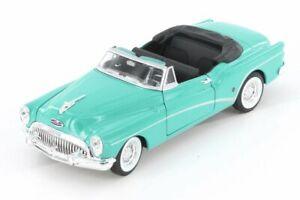1953 BUICK SKYLARK CLOSED CONVERTIBLE WELLY 24027C/H/4D 1/24 DIECAST CAR