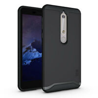 TUDIA Slim-Fit MERGE Dual Layer Protective Cover Case for Nokia 6.1 / 6 (2018)