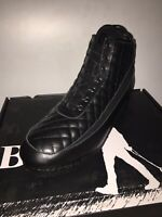 british walkers mens High Top Sneakers Size 11.5 Leathers Black Diamond