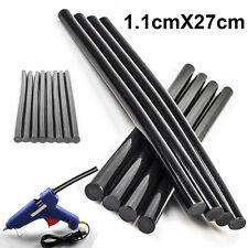 5pcs Hot Melt PDR Glue Sticks Car Body Paintless Dent Repair Puller Tool Black