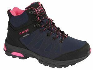 Ladies Womens Hi Tec Raven Waterproof Breathable Hiking Walking Ankle Boots