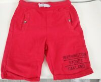 Boys Zara Red Pull On Shorts Front pockets age 9-10 yrs