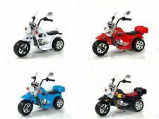 Kinder Elektro Polizei Motorrad ...