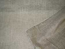 """~8 4/8 YDS~CLARENCE HOUSE~""""MUIRFIELD"""" SABLE~UPHOLSTERY FABRIC FOR LESS~ITALY~"""