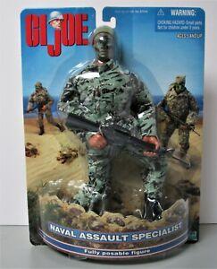 "GI Joe Naval Assault Specialist 12"" Figure New MOC"