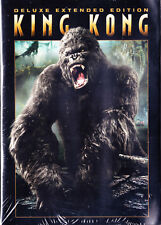 King Kong (DVD, 2006, 3-Disc Set, Deluxe Extended Version) New