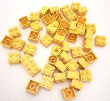 LEGO 50X BRICK 2X2 GIALLO MISTI LOTTO KG SET SPED GRATIS SU + ACQUISTI!