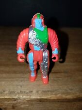 Computer Warriors Mini Figure 1989 Mattel Clock Micronn Vintage 80's