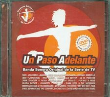 Un Paso Adelante - Zucchero/Irene Cara/Tatu/Jovanotti/John Travolta Dvd & Cd Vg
