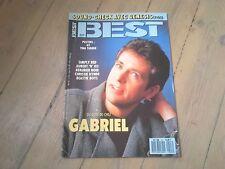 BEST N° 227 / JUIN 1987 / PETER GABRIEL / SIMPLY RED / BERURIER NOIR