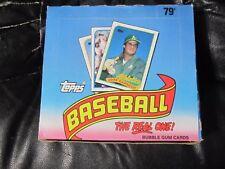 1989 Topps Cello Baseball Box 24 packs / 29 cards Randy Johnson