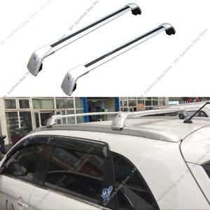 Aluminum Bars Luggage Roof Rack Trim o For Mitsubishi Outlander Sport ASX 13-19