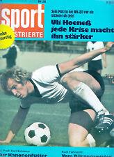 Sport Illustrierte 44 /1973 Uli Hoeneß Rudi Faßnacht WM 1974 Motorsport