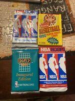 LOT OF UNOPENED Basketball PACKS UNOPENED BASKETBALL CARDS Vintage NBA Packs